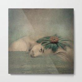 A man, the sea and a dream Metal Print