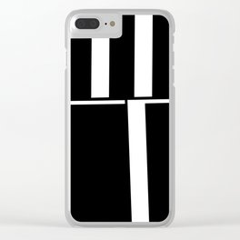 Anxiety Rectangles 1 #minimalism #abstract #geometry #society6 Clear iPhone Case