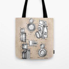 patent art Winslow Camera Accessories 1960 Tote Bag