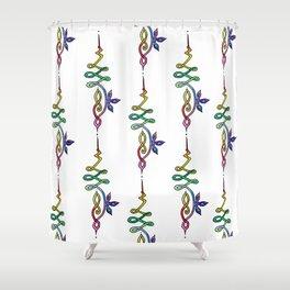 Unalome Shower Curtain