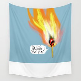 Life Gives You Lemons, and a Combustible Head Wall Tapestry