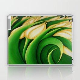 Stylized Yellow Tulips Laptop & iPad Skin