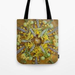 Nature Mandala: August Tote Bag