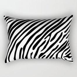 Skin of a zebra Rectangular Pillow
