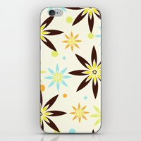 70s iPhone & iPod Skins featuring 70s flowers by Keyweegirlie