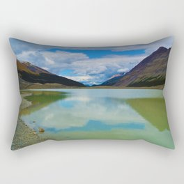 Sunwapta Lake at the Columbia Icefields in Jasper National Park, Canada Rectangular Pillow