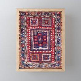 Karakecili Bergama Northwest Anatolian Rug Print Framed Mini Art Print