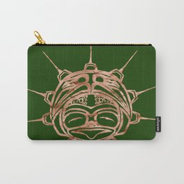 Copper Frog Grass Carry-All Pouch