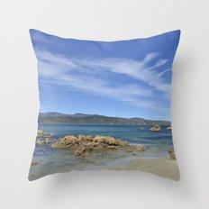 Wellington Beach Throw Pillow