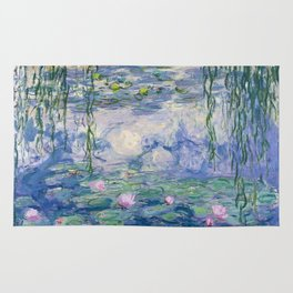 "Claude Monet ""Water Lilies(Nymphéas)"" (9) 1916–19.jpg Rug"