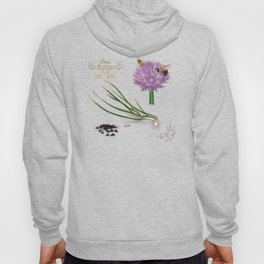 Chives and Pollinators Hoody