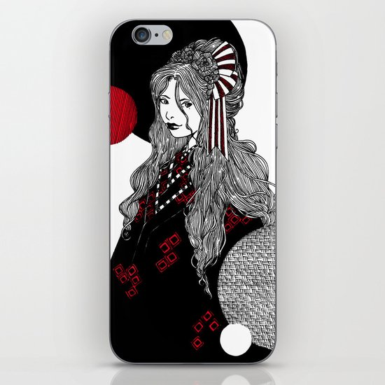 False Innocence iPhone & iPod Skin