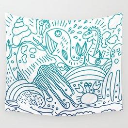 sea animals Wall Tapestry