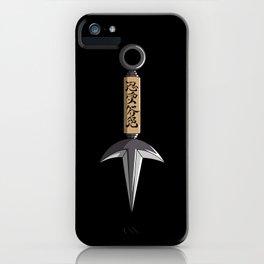 Flying Thunder God Kunai iPhone Case