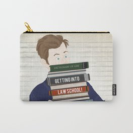 Getting into law school. By Priscilla Li Carry-All Pouch