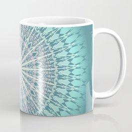 Teal Mandala Medallion Coffee Mug