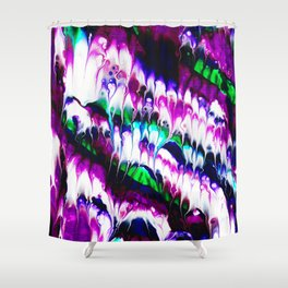 Colorful Ebb And Flow Shower Curtain