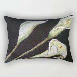 cala lilies Rectangular Pillow