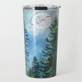 Silent Forest Travel Mug