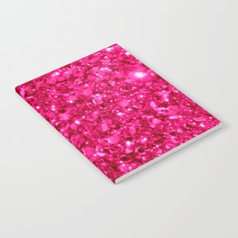 SparklE Hot Pink Notebook