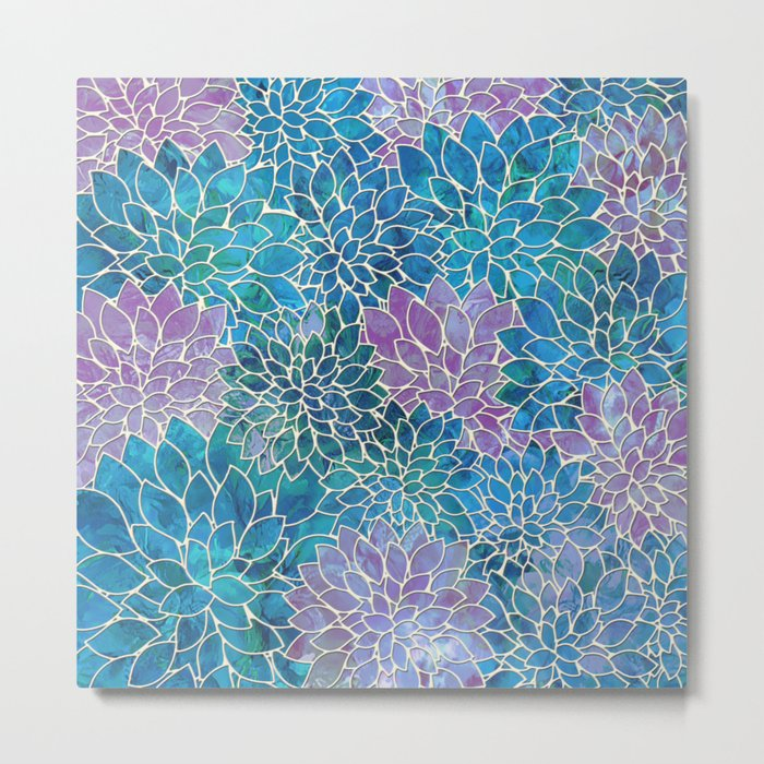 Floral Abstract 33 Metal Print