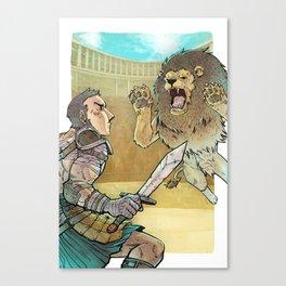 Gladiador Canvas Print