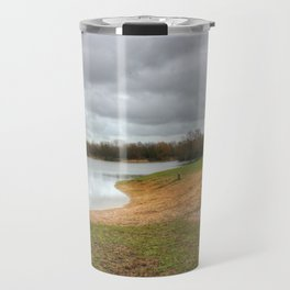 Let's Sit By The Lake Travel Mug