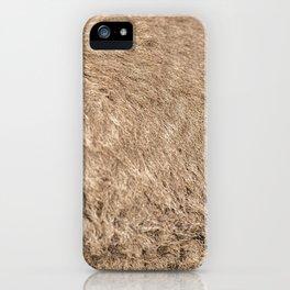 Closeup of Australian Kangaroo fur iPhone Case