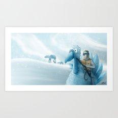 Ice Planet TomTaun Art Print