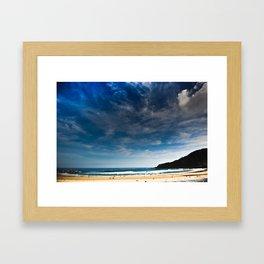 San Sebastian Beach, Spain Framed Art Print