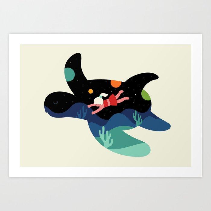 Ocean Roaming Art Print