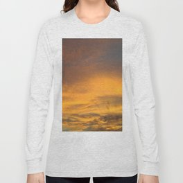 COME AWAY WITH ME - Autumn Sunset #2 #art #society6 Long Sleeve T-shirt