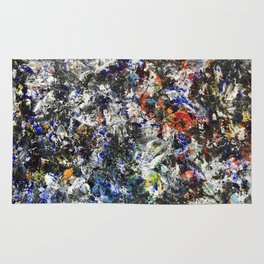 Made by Hand (oil on canvas) Rug