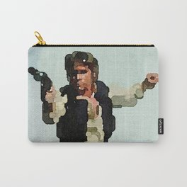 Solo Shot First (Abstract Watercolor) Carry-All Pouch
