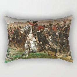 Edouard Detaille - Vive Lempereur Rectangular Pillow