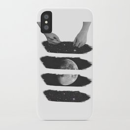 Draw me the moon iPhone Case