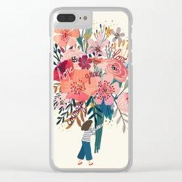 Floral bouquet Clear iPhone Case