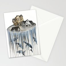 The flood III Stationery Cards