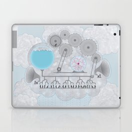 Cross-Section of a Cloud Laptop & iPad Skin
