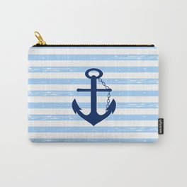 AFE Nautical Blue Ship Anchor Carry-All Pouch
