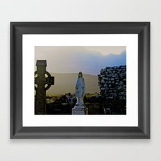Corcomeroe Abbey, County Clare Ireland Framed Art Print