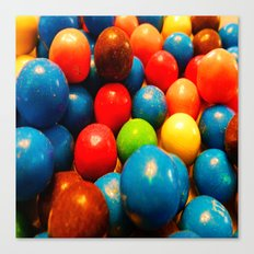 Colorful Candy! Canvas Print