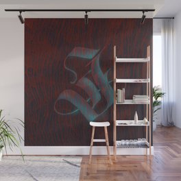J of judgement day Wall Mural