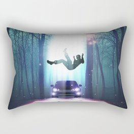 Alien Abduction Rectangular Pillow