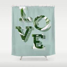 Love plants Shower Curtain