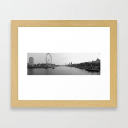 London Landscape Framed Art Print
