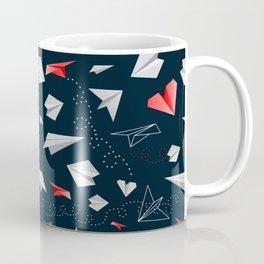 Paper airplanes Coffee Mug