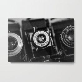 Classic Cameras. Metal Print