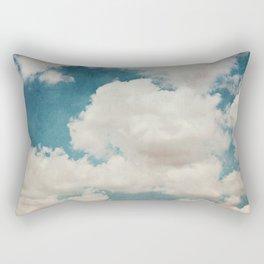 January Clouds Rectangular Pillow