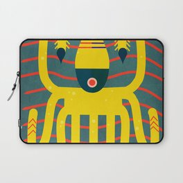 The calamari yellow Laptop Sleeve